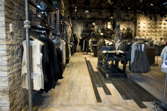 All saints clothing store