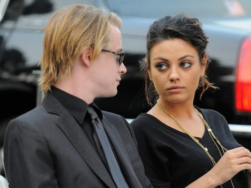 irene lopez and macaulay culkin. Calif jan culkin mila ways