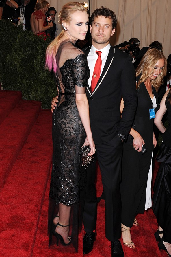 Joshua Jackson And Diane Kruger 2013