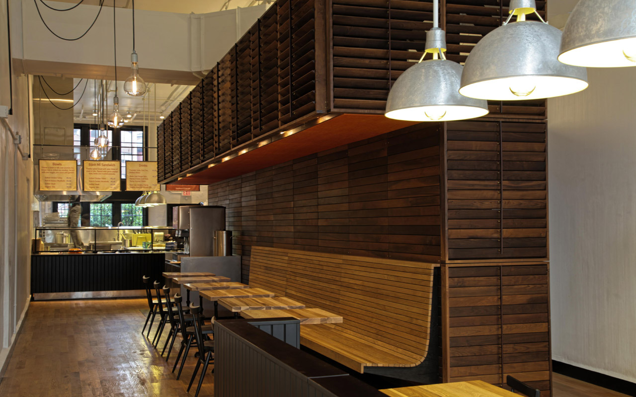 Chipotle goes thai with shophouse minx society for Super cheap flooring ideas