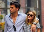 Olivia Palermo enjoys a stroll with her boyfriend Johannes Hueblin in downtown Manhattan