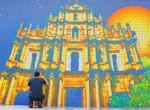 macau mural close up a