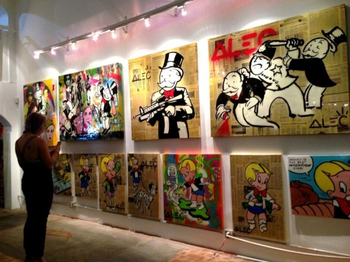 Art Gallery Calendar Los Angeles : Street art fair international at siren studios minx society